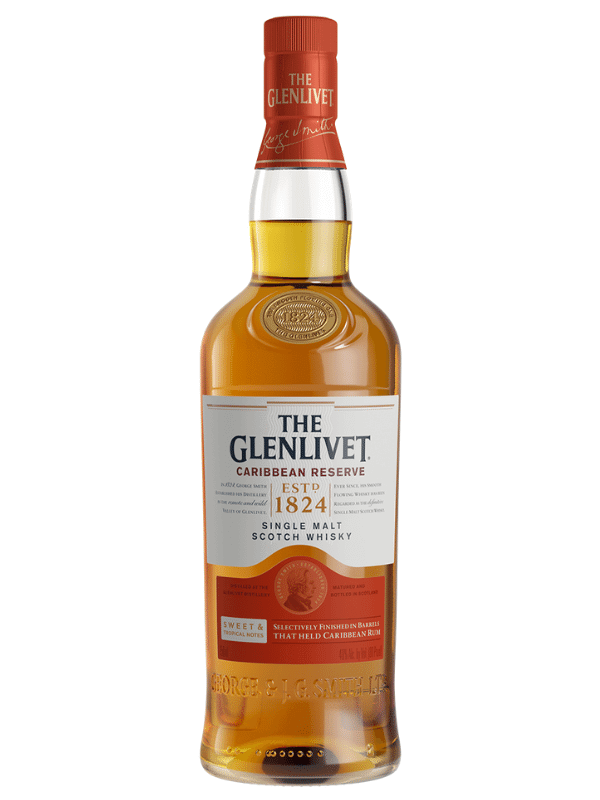 The Glenlivet Caribbean Reserve $44.99 per bottle
